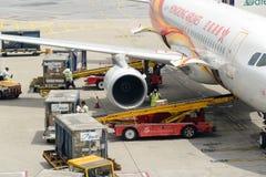 Υπηρεσία φορτίου Χονγκ Κονγκ Στοκ φωτογραφίες με δικαίωμα ελεύθερης χρήσης