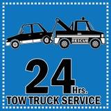 Υπηρεσία φορτηγών ρυμούλκησης Στοκ Φωτογραφία