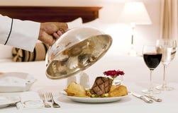 Υπηρεσία δωματίου ξενοδοχείου Στοκ Εικόνα