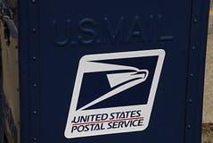 Υπηρεσία USpostal Στοκ φωτογραφία με δικαίωμα ελεύθερης χρήσης