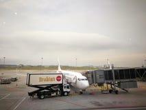 Υπηρεσίες τροφίμων Brahims για τη μαλαισιανή πτήση Στοκ φωτογραφία με δικαίωμα ελεύθερης χρήσης
