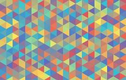 Υποβάθρου σκοτεινή κρητιδογραφία χάους τριγώνων διανυσματική Στοκ Εικόνες