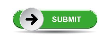Υποβάλτε το κουμπί πράσινο απεικόνιση αποθεμάτων