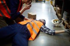 Υποβολή έκθεσης για το ατύχημα Στοκ Φωτογραφία