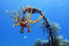υποβρύχια συντρίμμια τιμών &Al Στοκ εικόνες με δικαίωμα ελεύθερης χρήσης