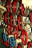 Υποβρύχιες ρόδες ελέγχου σκορπιών Στοκ Εικόνες