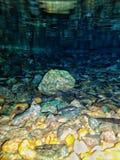 Υποβρύχιος βράχος Στοκ εικόνα με δικαίωμα ελεύθερης χρήσης