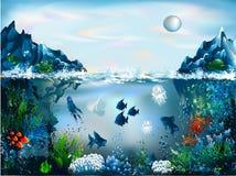 υποβρύχιος κόσμος Στοκ φωτογραφία με δικαίωμα ελεύθερης χρήσης
