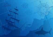 υποβρύχιος κόσμος Στοκ Εικόνες