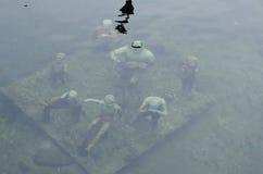 Υποβρύχιο γλυπτό στην Κοπεγχάγη στοκ φωτογραφίες με δικαίωμα ελεύθερης χρήσης