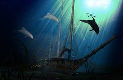 υποβρύχιο ζωής Στοκ Φωτογραφίες