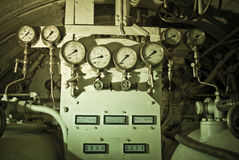 υποβρύχιο μηχανημάτων Στοκ φωτογραφίες με δικαίωμα ελεύθερης χρήσης