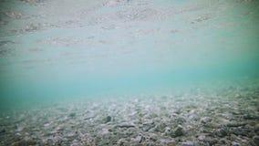 Υποβρύχιο σαφές κατώτατο σημείο ποταμών φιλμ μικρού μήκους