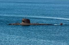 Υποβρύχιο στη θάλασσα Στοκ Φωτογραφία