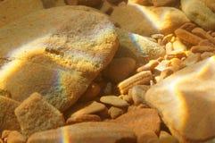 Υποβρύχιο υπόβαθρο βράχων Στοκ εικόνα με δικαίωμα ελεύθερης χρήσης