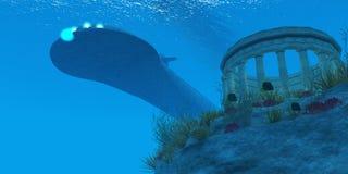 Υποβρύχιο Στοκ φωτογραφία με δικαίωμα ελεύθερης χρήσης