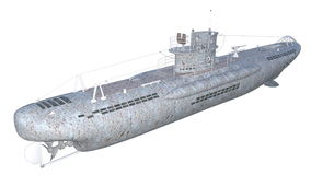 υποβρύχιο Στοκ εικόνες με δικαίωμα ελεύθερης χρήσης
