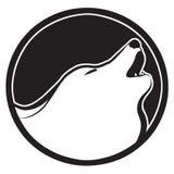 υπογράψτε το λύκο Στοκ Εικόνες