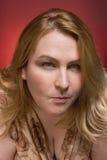 υποδηλωτική γυναίκα Στοκ φωτογραφία με δικαίωμα ελεύθερης χρήσης
