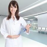 Υποδοχή στην κλινική Στοκ Εικόνες