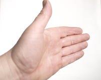 υποδοχή χεριών Στοκ εικόνες με δικαίωμα ελεύθερης χρήσης