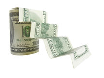 υποδοχή χρημάτων χαρτονιών στοκ εικόνα