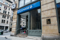 Υποκατάστημα τράπεζας αυλακώματος Στοκ Εικόνα