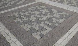 Υπολογίστε τις πλάκες επίστρωσης στο τετράγωνο Υπόβαθρο της επίστρωσης Στοκ Εικόνα
