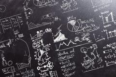 Υπολογισμοί γραφικών παραστάσεων ANS διανυσματική απεικόνιση