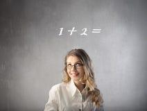 υπολογισμός εύκολος Στοκ φωτογραφία με δικαίωμα ελεύθερης χρήσης
