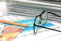 υπολογισμός με λογιστικό φύλλο (spreadsheet) 2 Στοκ φωτογραφία με δικαίωμα ελεύθερης χρήσης