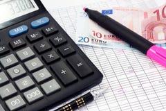 υπολογισμός οικονομι&ka στοκ εικόνες