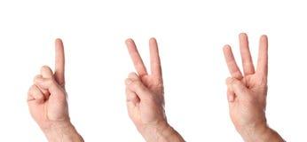 υπολογισμός τριών Στοκ φωτογραφίες με δικαίωμα ελεύθερης χρήσης