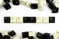 Υπολογιστές και τεχνολογίες υπολογιστών στις βιομηχανίες και τους τομείς της ανθρώπινης δραστηριότητας - έννοια έρευνα Η έρευνα λ στοκ φωτογραφία με δικαίωμα ελεύθερης χρήσης