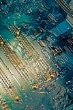 υπολογιστής ανασκόπησης Στοκ Φωτογραφίες