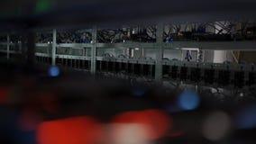 Υπολογιστής για τη μεταλλεία Bitcoin απόθεμα βίντεο