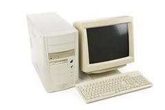 υπολογιστής γραφείου υπολογιστών στοκ φωτογραφίες
