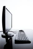 υπολογιστής γραφείου &up Στοκ φωτογραφίες με δικαίωμα ελεύθερης χρήσης