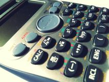 υπολογιστής επιστημον&io στοκ φωτογραφία
