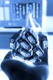 υπολογιστής καλωδίων Στοκ Εικόνα