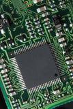 υπολογιστής κυκλωμάτων χαρτονιών Στοκ Φωτογραφία