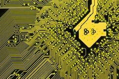υπολογιστής κυκλωμάτω& Στοκ εικόνα με δικαίωμα ελεύθερης χρήσης