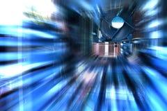 υπολογιστής μέσα στον κεντρικό υπολογιστή Στοκ εικόνες με δικαίωμα ελεύθερης χρήσης