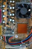 υπολογιστής μέσα στο upclose Στοκ φωτογραφίες με δικαίωμα ελεύθερης χρήσης