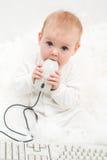 υπολογιστής μωρών Στοκ Εικόνα