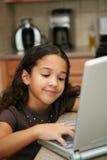 υπολογιστής παιδιών Στοκ εικόνες με δικαίωμα ελεύθερης χρήσης