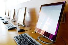 υπολογιστής τάξεων Στοκ Φωτογραφία