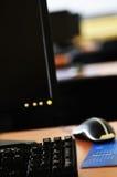 Υπολογιστής τάξεων Στοκ εικόνα με δικαίωμα ελεύθερης χρήσης