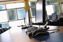 Υπολογιστής τάξεων Στοκ εικόνες με δικαίωμα ελεύθερης χρήσης