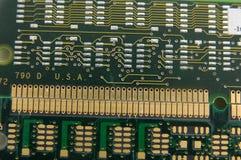 υπολογιστής τσιπ Στοκ Φωτογραφία